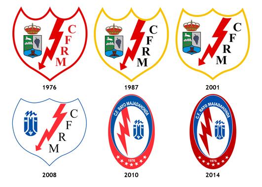 escudos CF Rayo Majadahonda