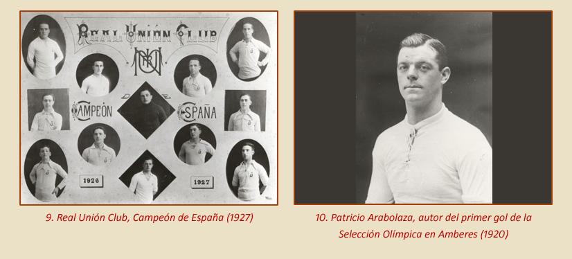 La Esferomaquia Real Union Club de Irun aportacion selecciones
