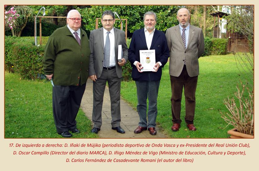 La Esferomaquia Real Union Club de Irun presentacion libro