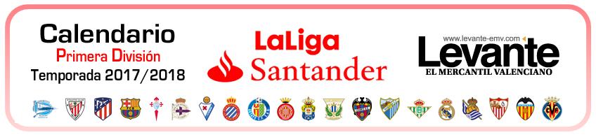 calendario primera division 2017-2018