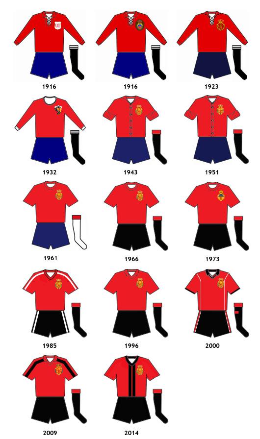 uniformes RCD Mallorca