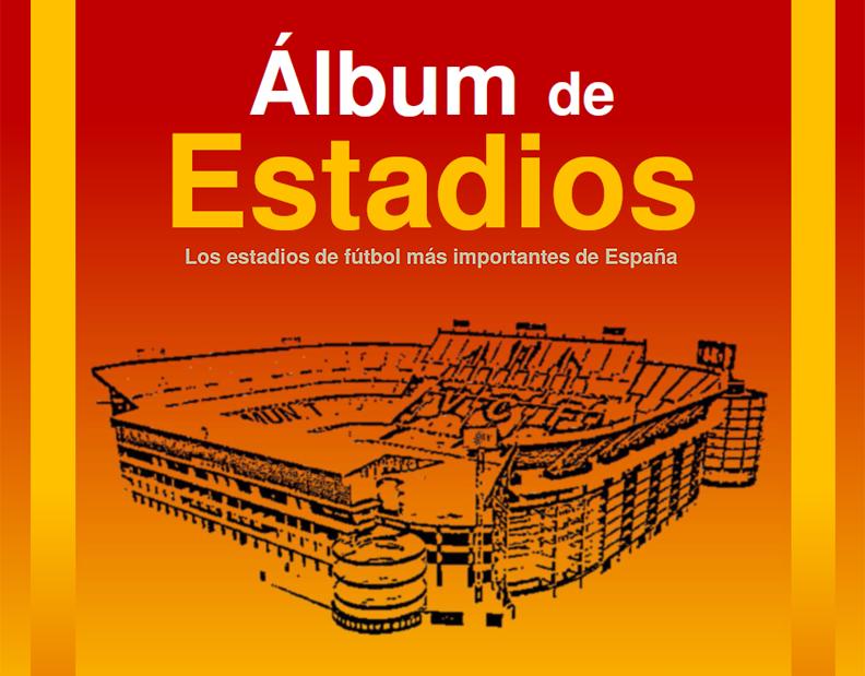 titular Album de Estadios La Futbolteca