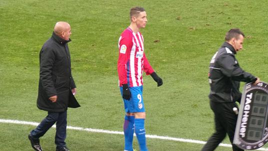 partido Atletico Madrid-Las Palmas 17-12-2016 Torres