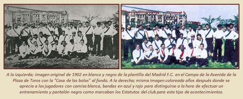 HF Los escudos del Real Madrid CF 1