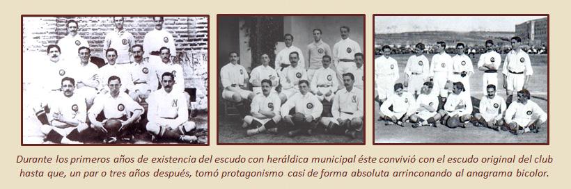 HF Los escudos del Real Madrid CF 10
