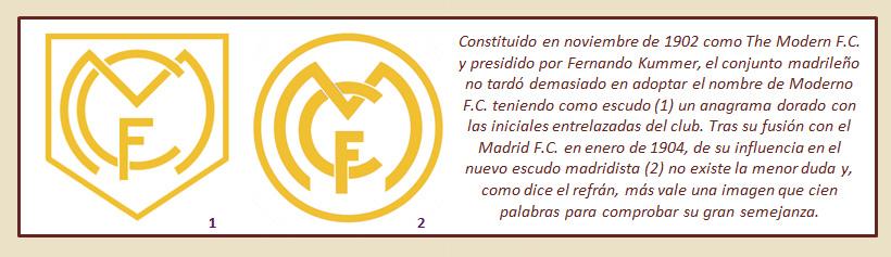 HF Los escudos del Real Madrid CF 11