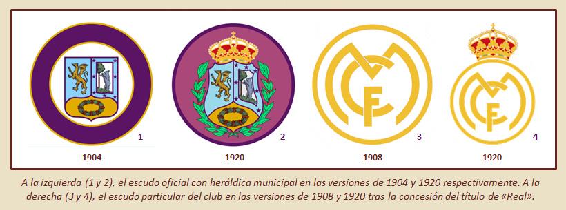 HF Los escudos del Real Madrid CF 14