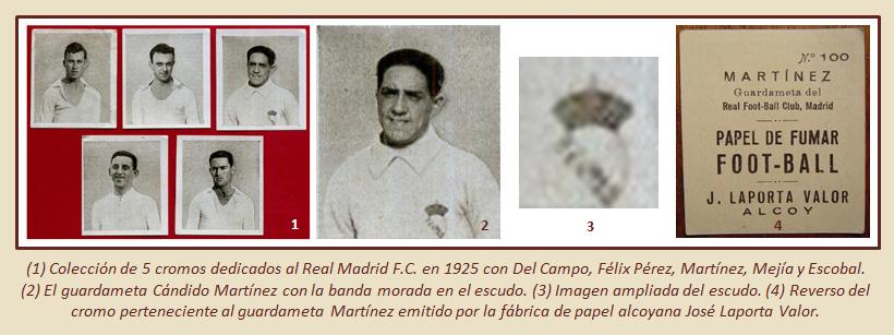 HF Los escudos del Real Madrid CF 18