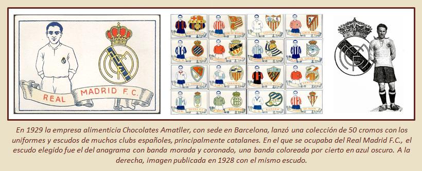 HF Los escudos del Real Madrid CF 20