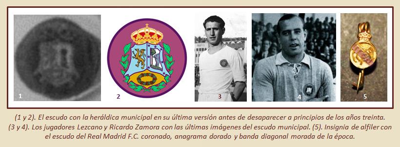 HF Los escudos del Real Madrid CF 21