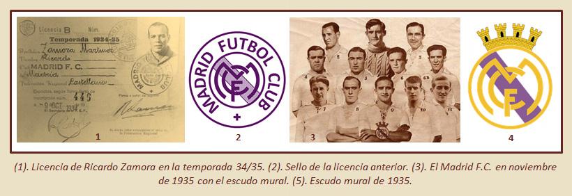 HF Los escudos del Real Madrid CF 23