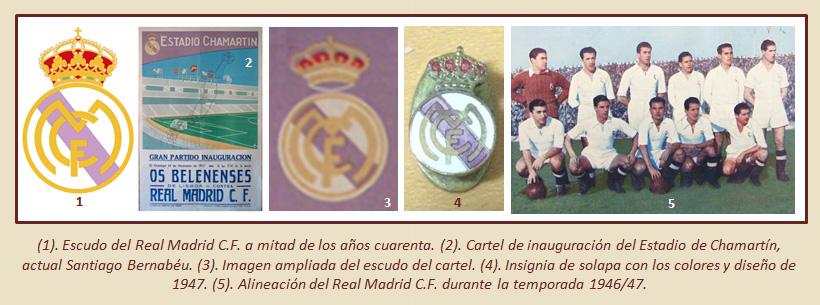 HF Los escudos del Real Madrid CF 29