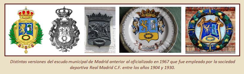 HF Los escudos del Real Madrid CF 7