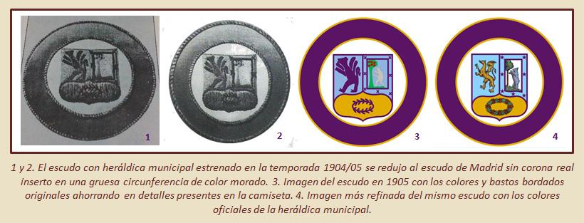 HF Los escudos del Real Madrid CF 8