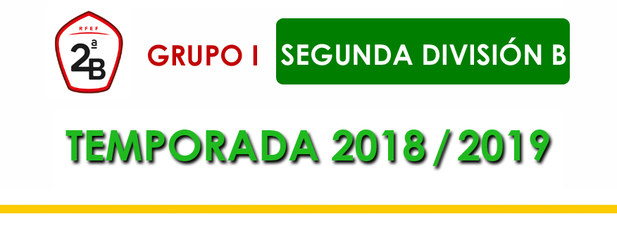 titular Segunda B Grupo 1 2018-2019