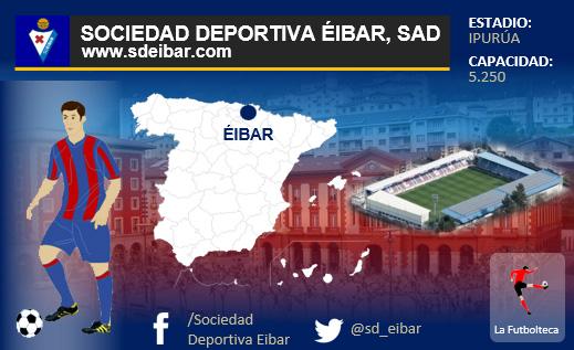 historia sd eibar    La Futbolteca. Enciclopedia del Fútbol Español 7a081235a3c90