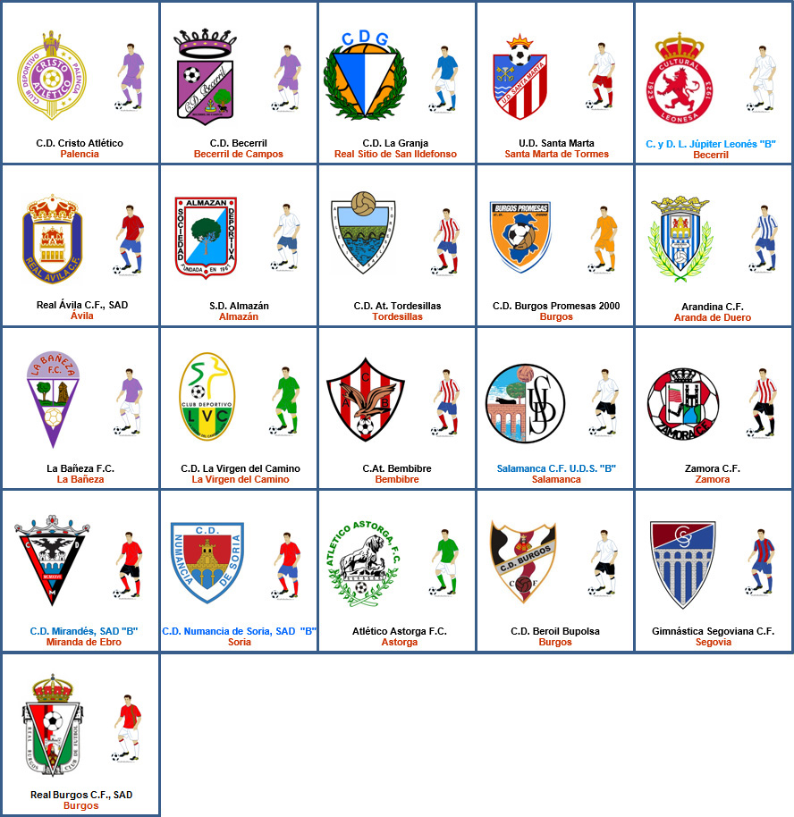 Tercera División Grupo VIII :: La Futbolteca. Enciclopedia ...