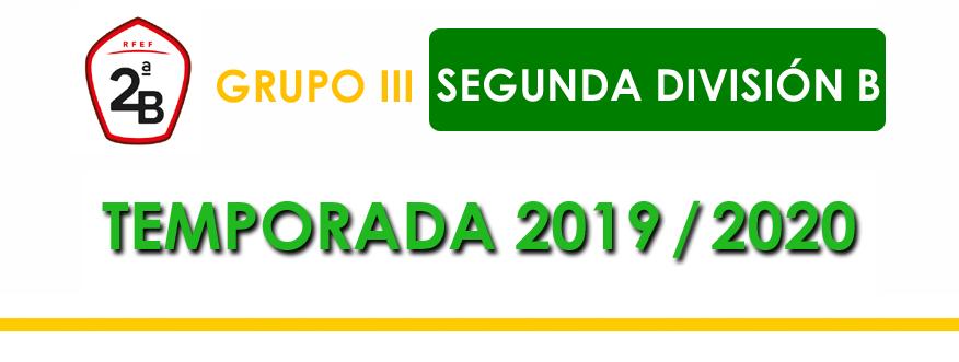 titular segunda b grupo 3 2019-2020