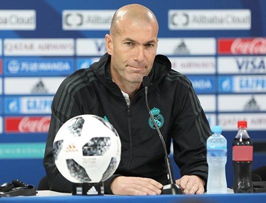 rueda prensa Zidane
